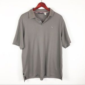 🛍5 For $20🛍Tommy Bahama Brown Polo Shirt Medium